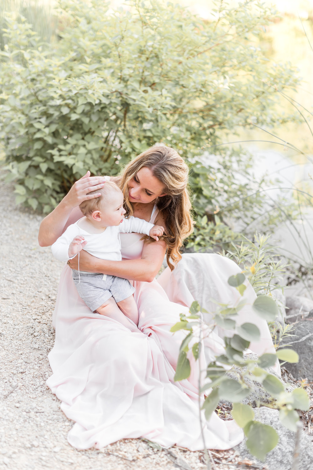 See more of Marcela + Frederick's mommy & me sess  ion on the   blog!