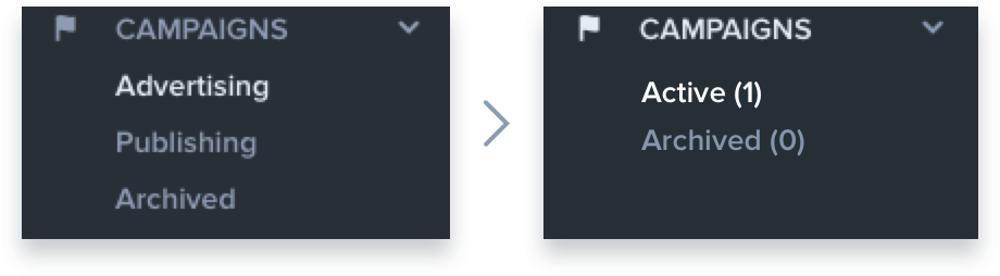 To the left is the sub optimal design. To the right is the improved design.