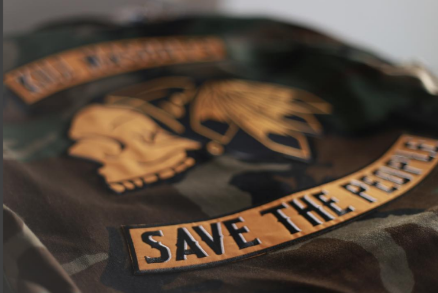 SECTION 35 - Kill Mascots, Save the People Camo Jacket
