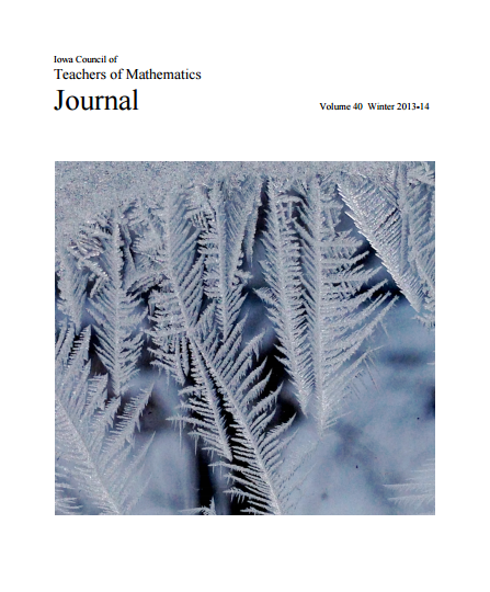 ICTM Journal Winter 2013-2014