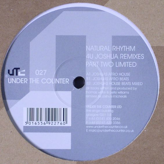4U Part 2 (Joshua Remixes)  Under The Counter (2000)