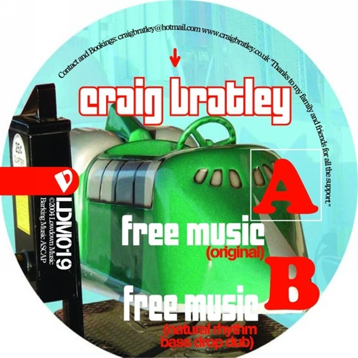 "Craig Bratley ""Free Music""  LowDown Music (2004)"