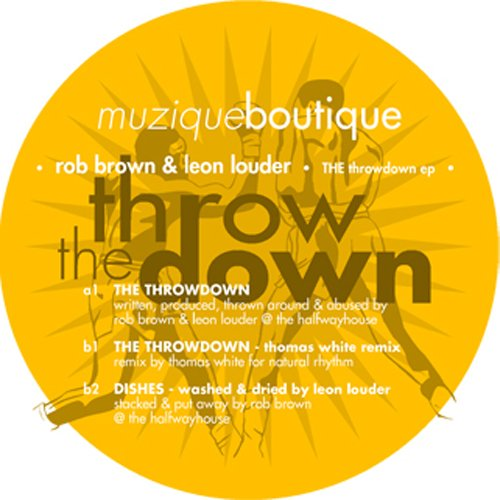 "Rob Brown & Leon Louder ""The  Throwdown"" Muzique Bout. (2007)"