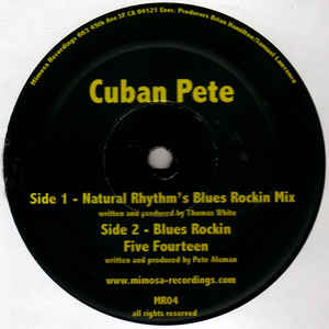 "Cuban Pete ""Blues Rockin"" Mimosa Recordings (2005)"