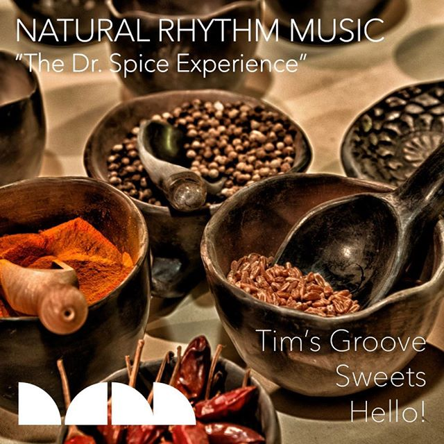 "Natural Rhythm's ""The Dr. Spice Experience"" available now @traxsource"
