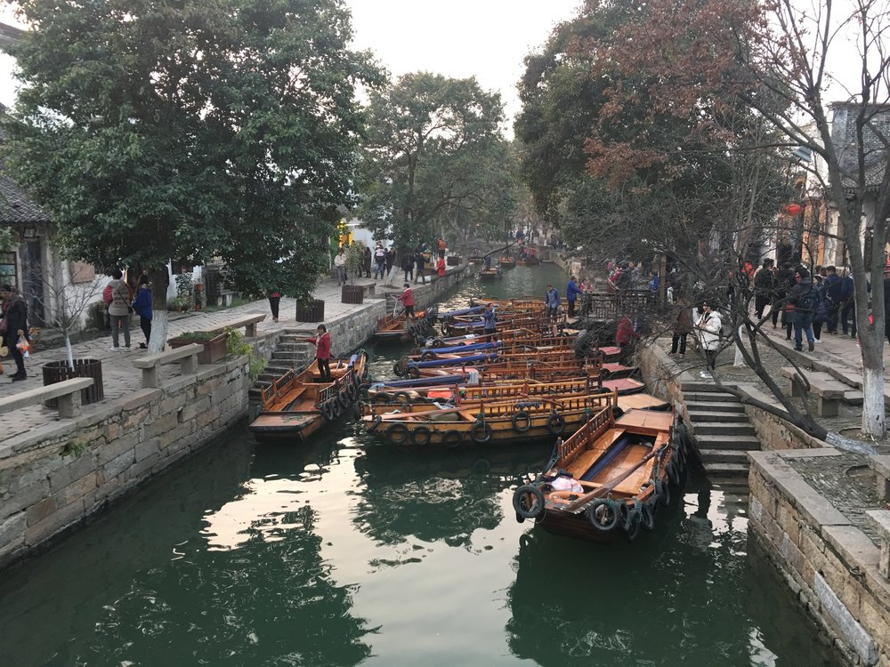 Tongli Boat Ride