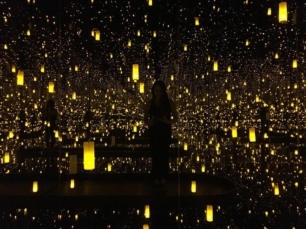 Infinity Mirrors Yayoi Kusama