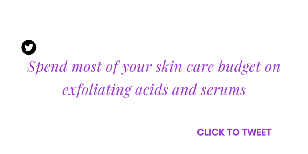 anti aging serums for dry and oily skin under 50 dollars