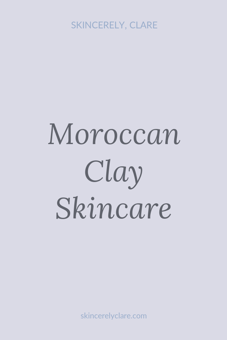 Moroccan Clay Masks