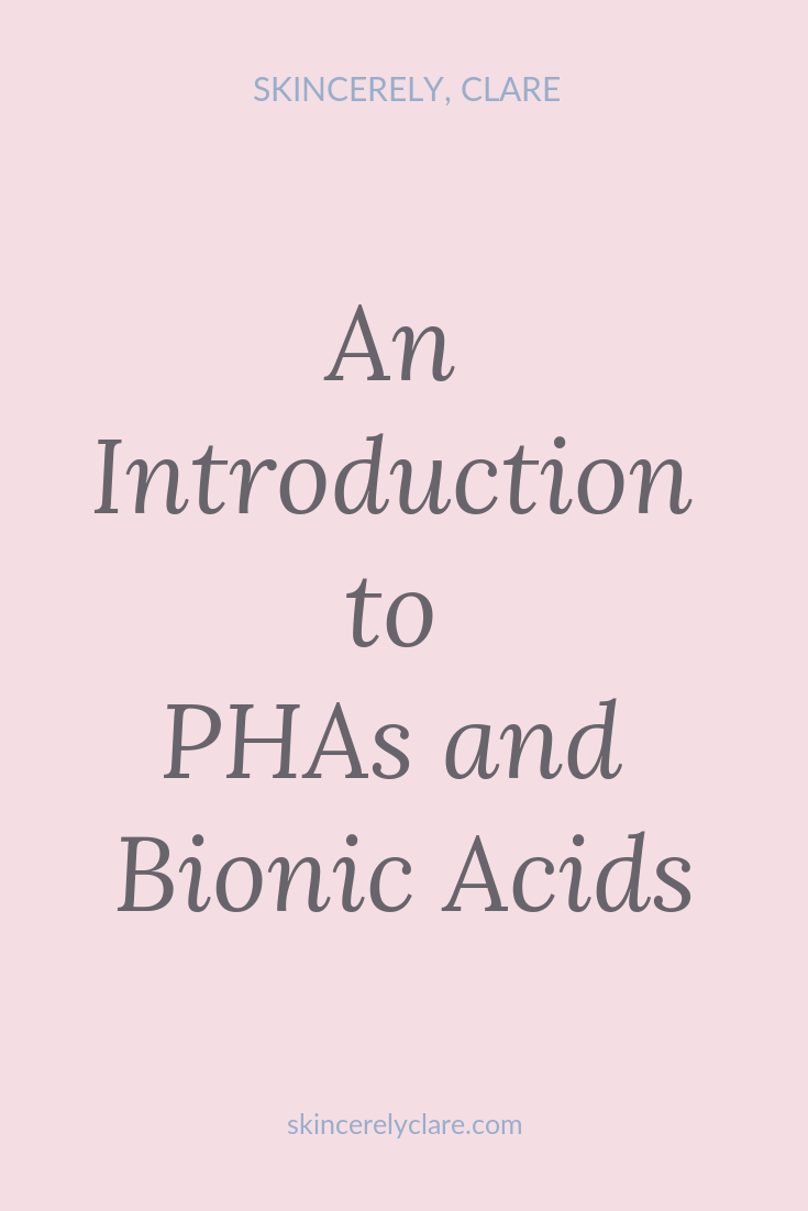 phas and bionic acids exfoliate