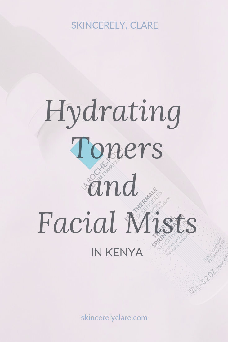 Hydrating toners and facial mists in Kenya