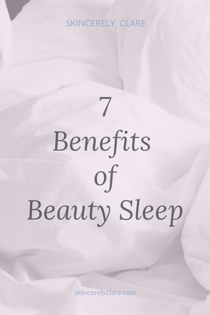 Beauty sleep is real