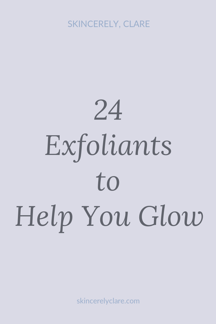 Effective chemical exfoliants for oily, combo and dry skin