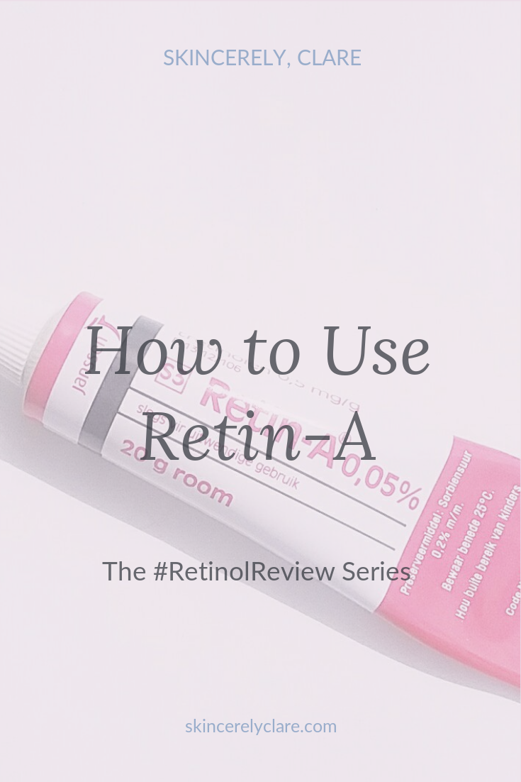 How to use Retin-A