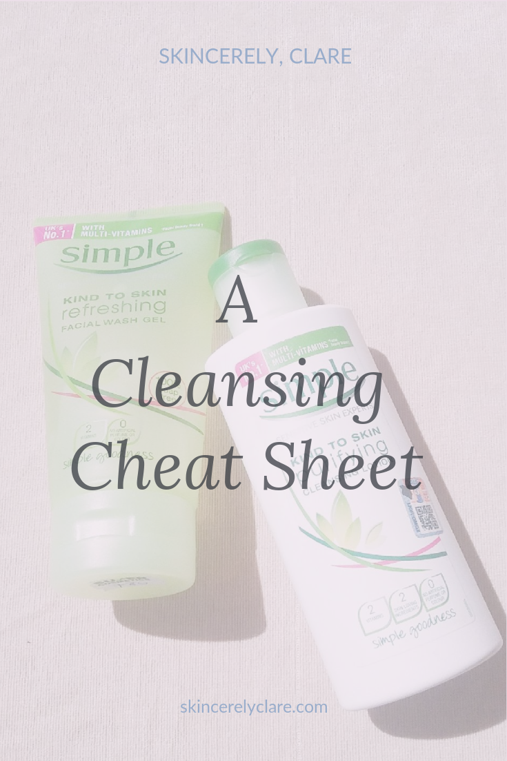 Avoid face cleansing mistakes