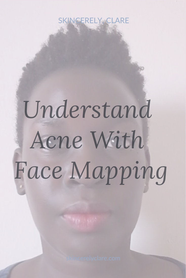 face mapping to clear acne