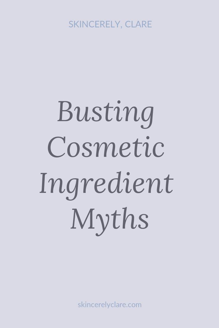 Cosmetics myths
