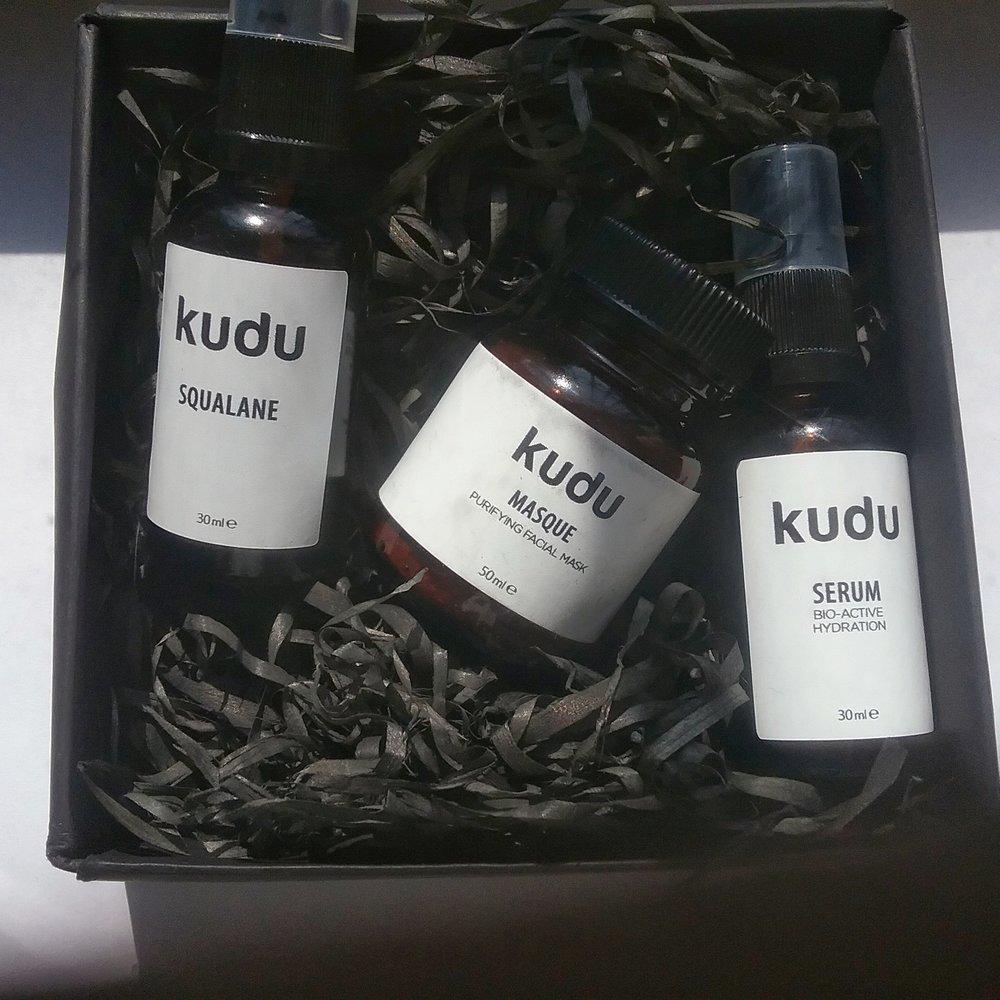 Unwrapping Kudu Cosmetica skincare