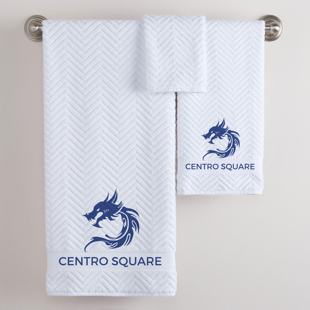 A towel design concept for their guests.