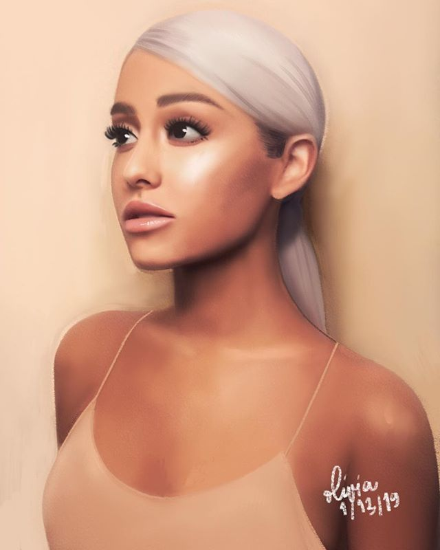 Got sick again during the weekend so I couldn't really polish this up. A messier style for me but I hope I did okay 😅 . #arianagrande #portrait #illustration #drawing #art #artoftheday #drawingoftheday #artwork #painting #digitalart #digitalpainting #sketch #procreate #procreateapp #handmade #portraitdrawing #instaart #celebrity #fanart