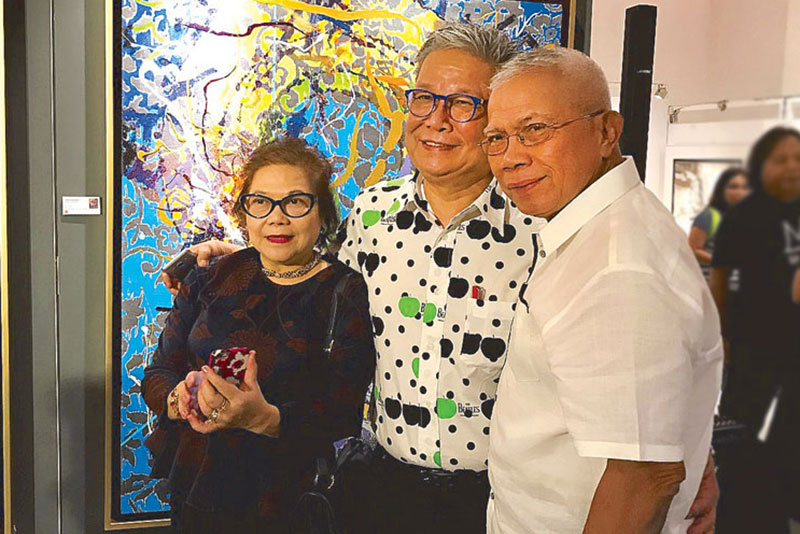 Loby and Edwin Wilwayco with Nel Reformina.