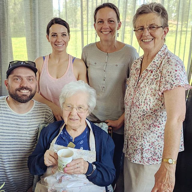 96 years young!! Happy birthday Granny!