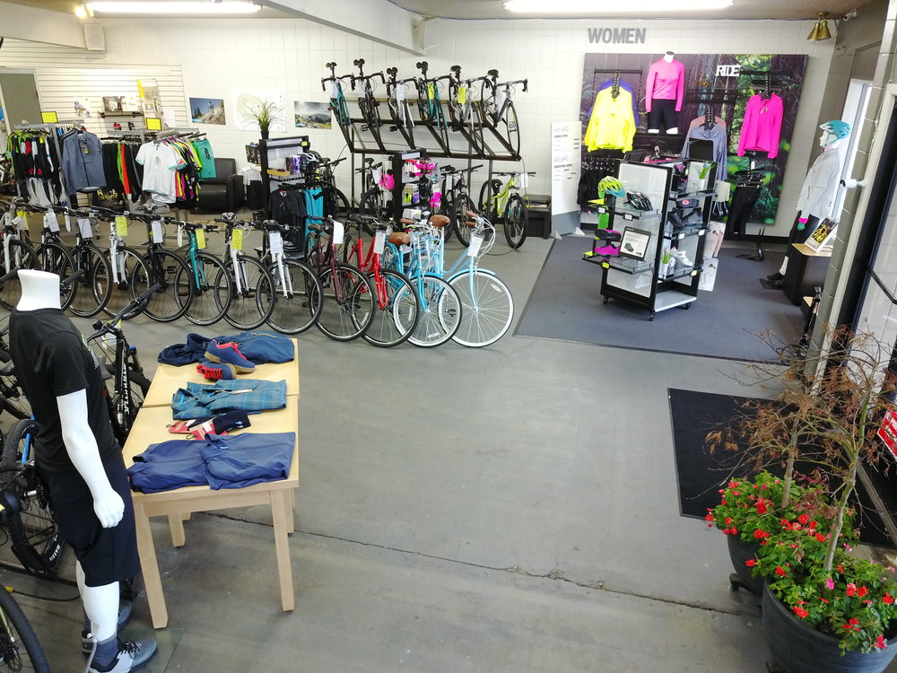 Women's Bikes and Clothing