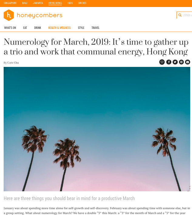 The Honeycombers March 2019 Numerology by Corie Chu.png