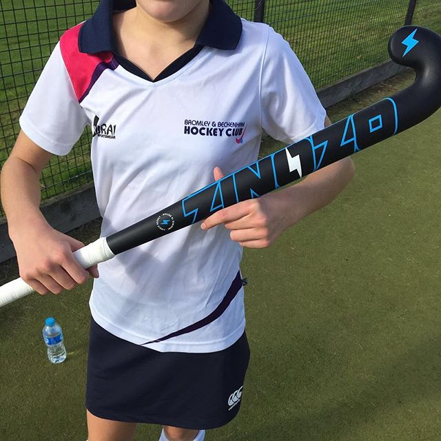 Spotted out and about this morning at #BromBeckHC. - #zinozo #zinozohockey #jr20 #fieldhockey #hockeystyle