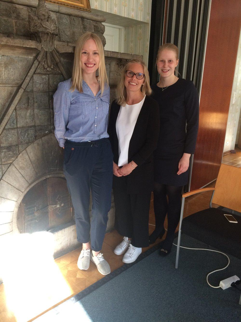 Saara Väätäinen, Sara Tyynysniemi & Karoliina Skyttä