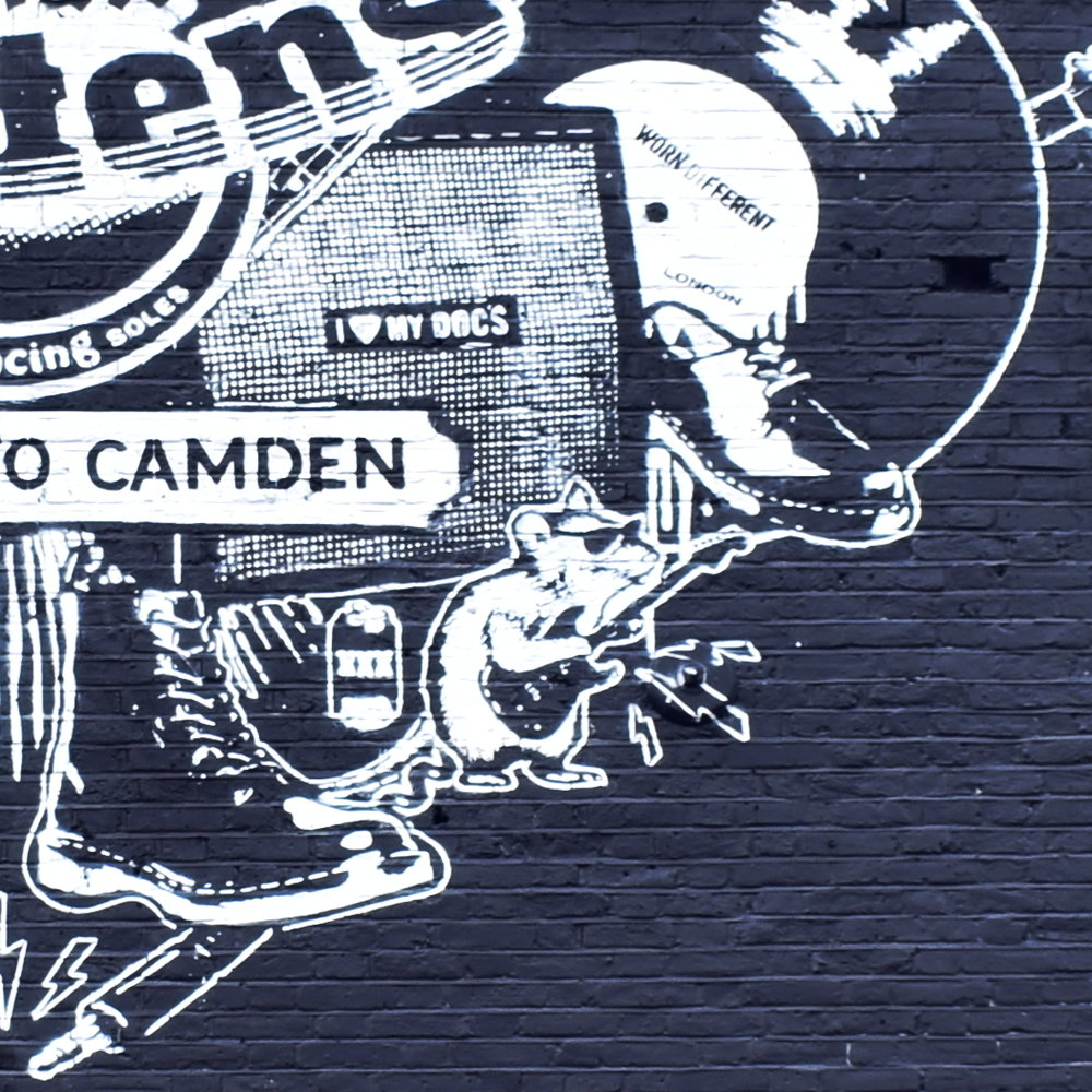 Dr Martens Mural Project | Close up