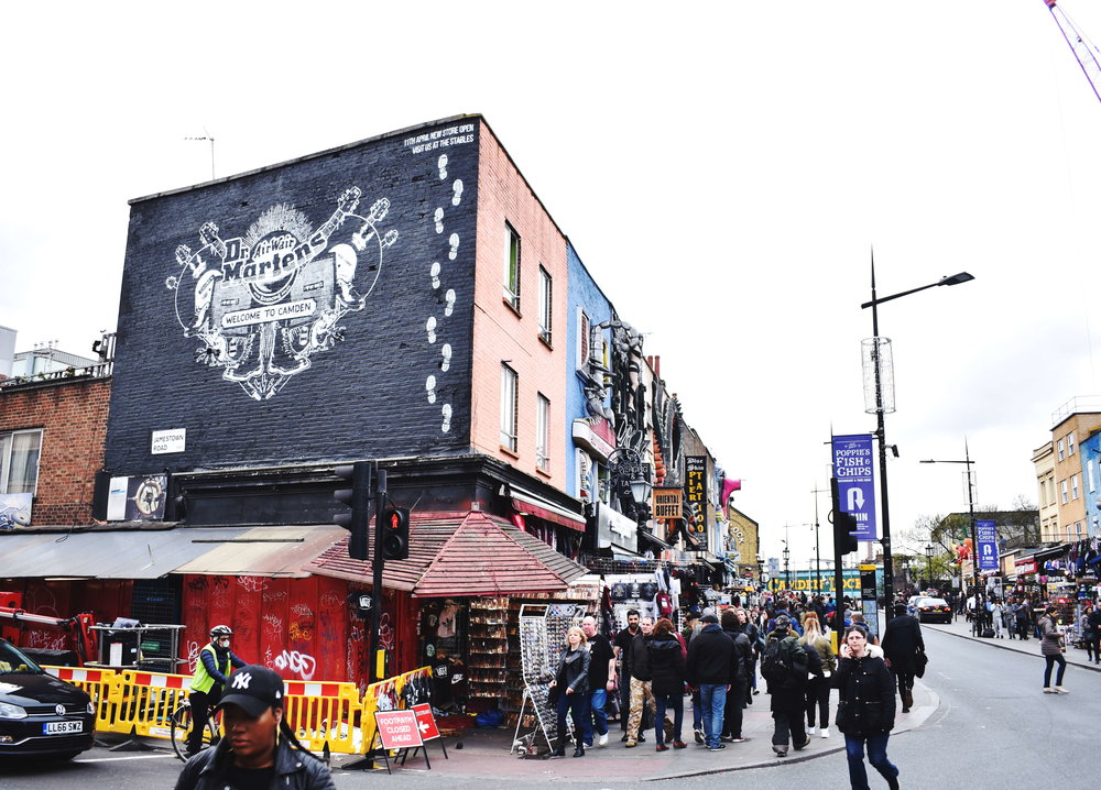 Dr Martens Mural Project Final Wall