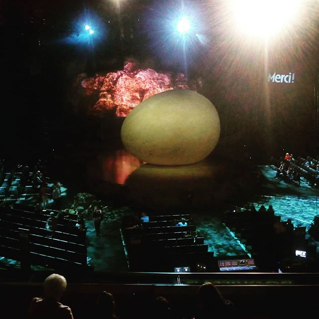 SSE Hydro and Cirque du Soleil OVO is about to start!