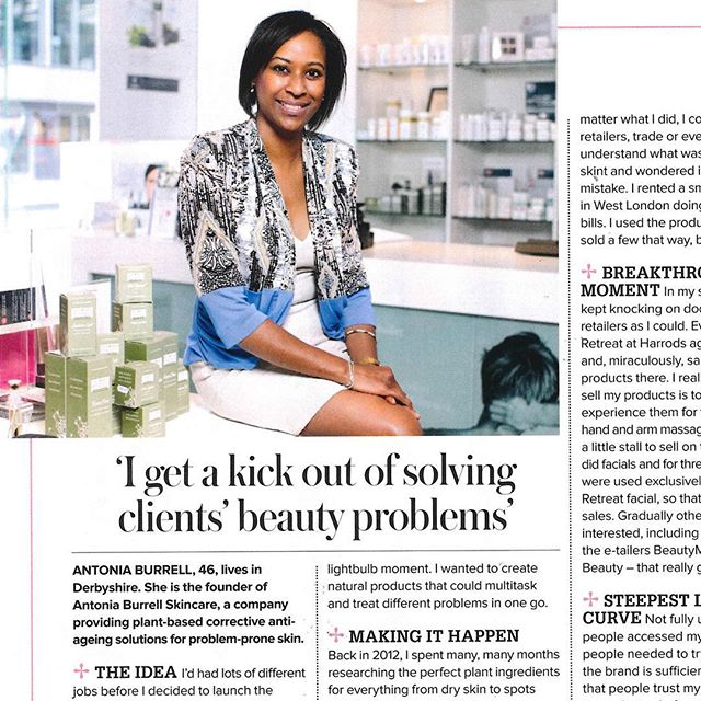 Antonia Burrell talks to @womanandhome about her career in the beauty industry so far 💕