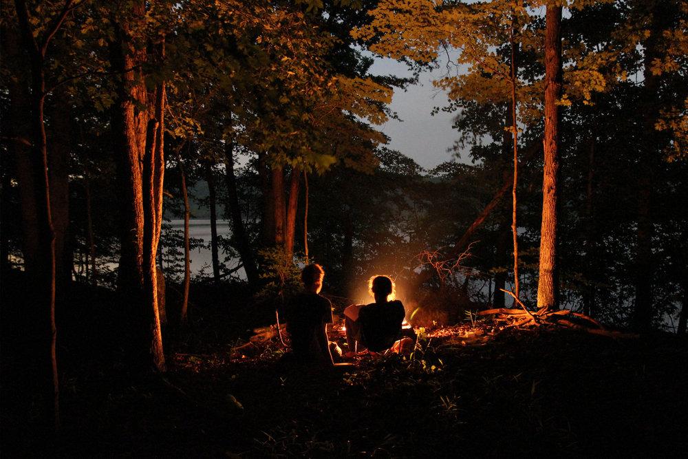Camping at Lake Monroe /photo credit: Visit Bloomington