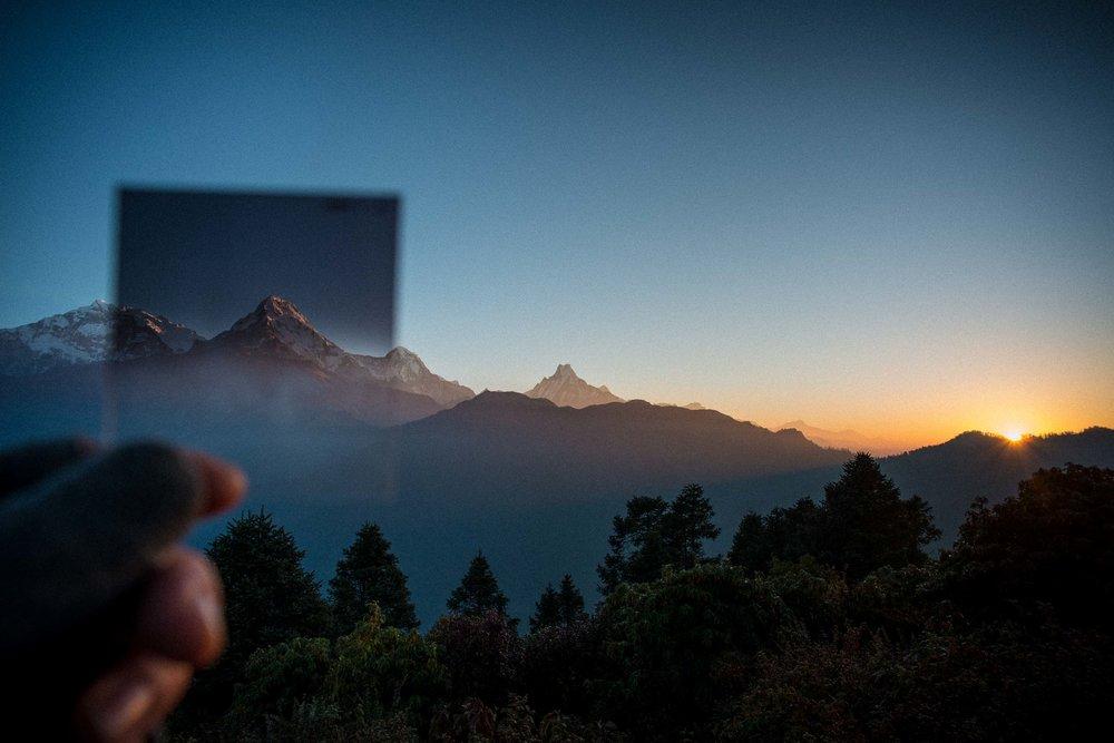The most amazing sunrise of my life - The Himalayas, Nepal