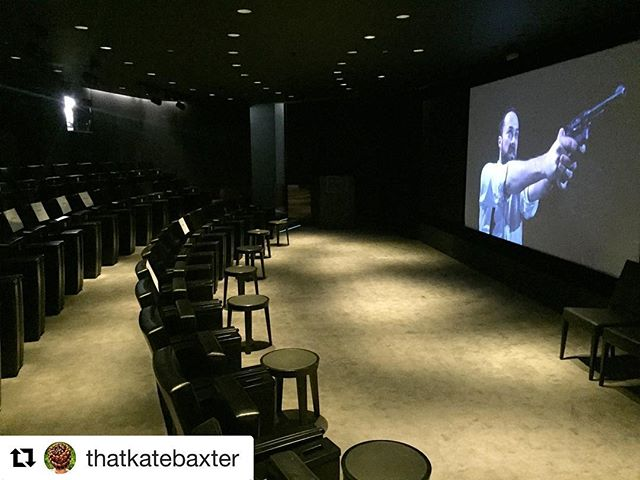 #Repost @thatkatebaxter ・・・ #SoundCheck before screening #WhirlpoolFilm at the #BulgariHotel #London