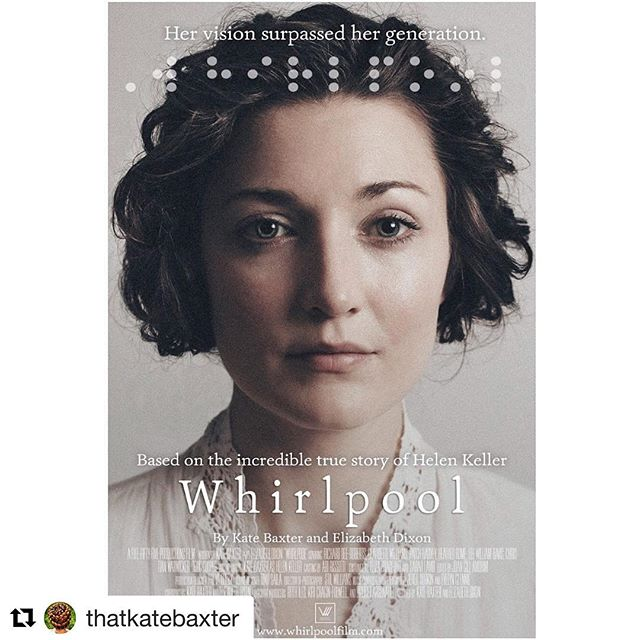 #Repost @thatkatebaxter (@get_repost) ・・・ What a week! #WhirlpoolFilm has taken @lizzykdixon and I down many roads. With support of friends and industry we are working hard to keep up with the pace of the feature film's arrival. Major thanks to dear ones including @bridget.ruth @womenandhollywood @bvlgarihotelslondon @bulgariofficial @lifeatbulgarihotellondon @victoriayeates1 #ClaudetteWilliams @jeredsorkin #DameEvelynGlennie #StilWilliams @bhamfilmfest @heartland_film @austinfilmfest @bearbrooksbank @fivefiftyfiveproductions  #KennethLonergan @universalpicturesuk #helenkeller (of course) and so many more!!