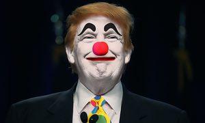 SAD! Clown Trump