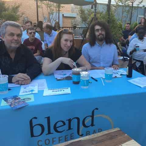 Judges Ron Goad, Lesly Hollander, Alex Minton