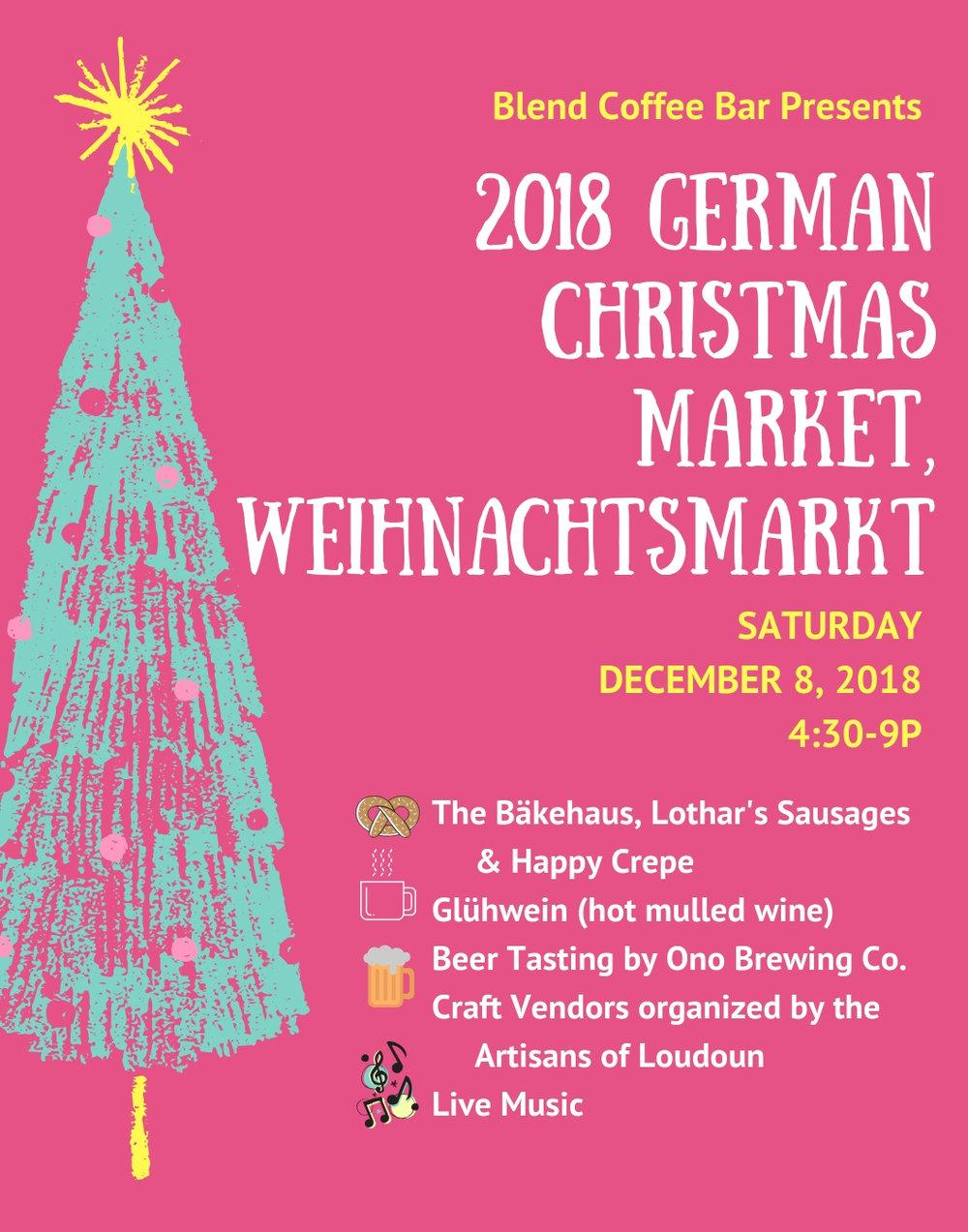 2018 GERMAN CHRISTMAS MARKET, WEINACHTSMARKT.jpg