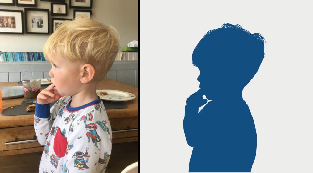Vincent, age 2.
