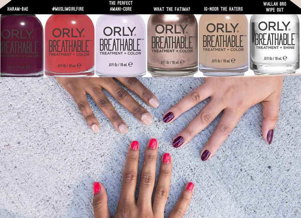Halal Paint Nail Polish set