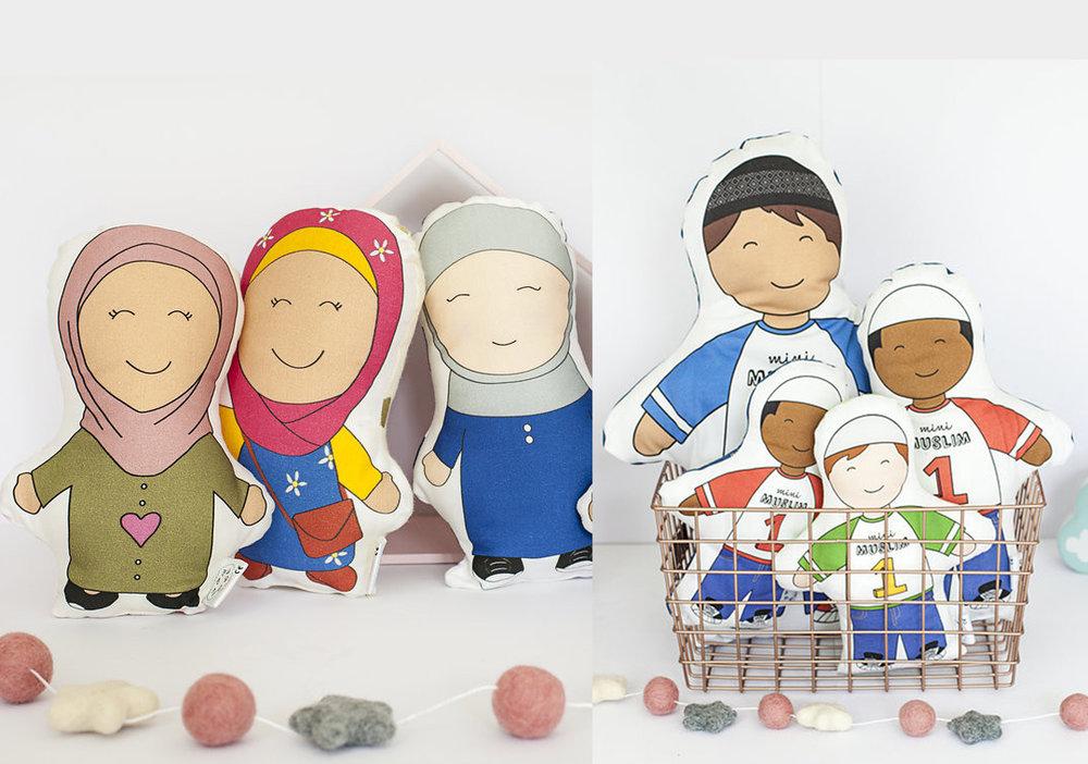 Muslim Cushion Dolls