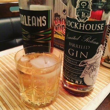 Lockhouse Barreled Gin, Orleans Herbal, Fever Tree Tonic