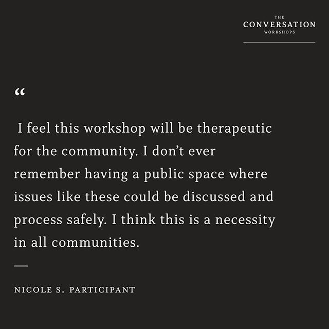 What will you say after you engage our workshop?