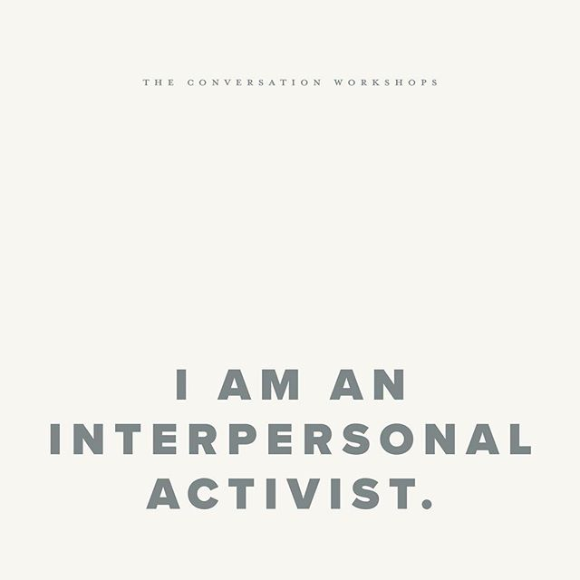 Take part in this movement by investing in your own interpersonal activism. + + + There are seats available in both the Aug. 18 and Sept. 9 workshops! Don't wait too long to snag your spot, though. Link in bio.✌🏾