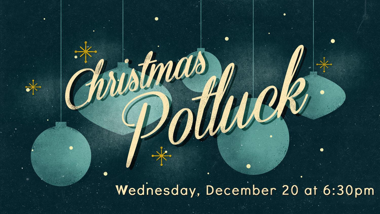 Christmas Potluck.Christmas Potluck Dinner Logos Community Church