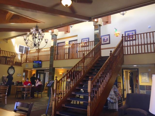 americinn lobby, rapid city, south dakota