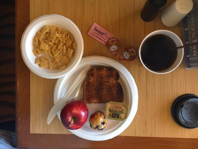 americinn breakfast, rapid city, south dakota